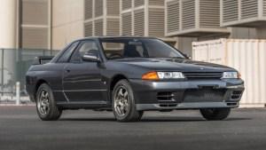 Stock 1989 Nissan Skyline GTR