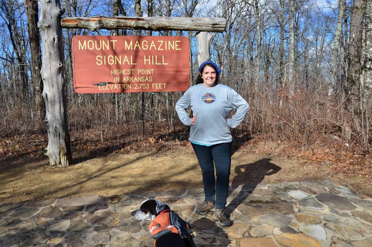 Mount Magazine, highest mountian in Arkansas