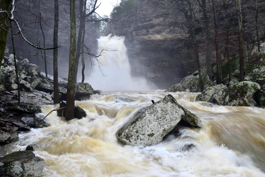 Petit Jean State Park, offers scenic views as well as beautiful hiking trails.
