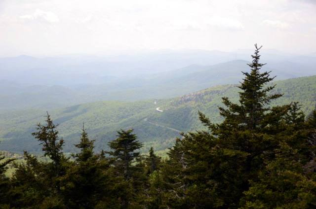 Blue Ridge Parkway is a great way to see the Apalachian Mountains through our national parks.
