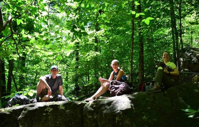 Hiking Whitaker Point (Hawksbill Crag) and the Glory Hole Falls trail in the upper Buffalo River area are Arkansas staples.