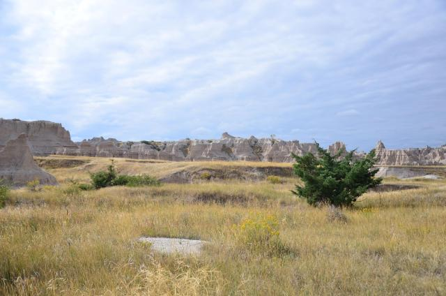 Exploring Badlands National Park in South Dakota.