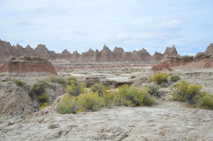Exploring Badlands National Park in South Dakota.