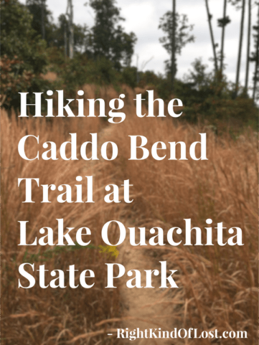 Hiking the Caddo Bend Trail at Lake Ouachita State Park in southwest Arkansas. A lovely four-mile hike.