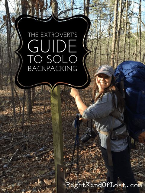 The extrovert's guide to solo backpacking, hiking, and traveling, from safety issues to how to deal with the loneliness and solitude.
