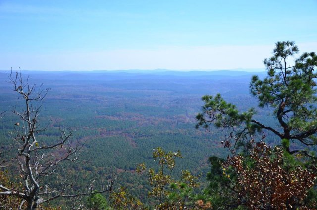 Backpacking the Ouachita Trail from Highway 298 to HIghay 7, is my favorite part of the OT. Beautiful vistas and views of narrow valleys will not leave you disappointed.