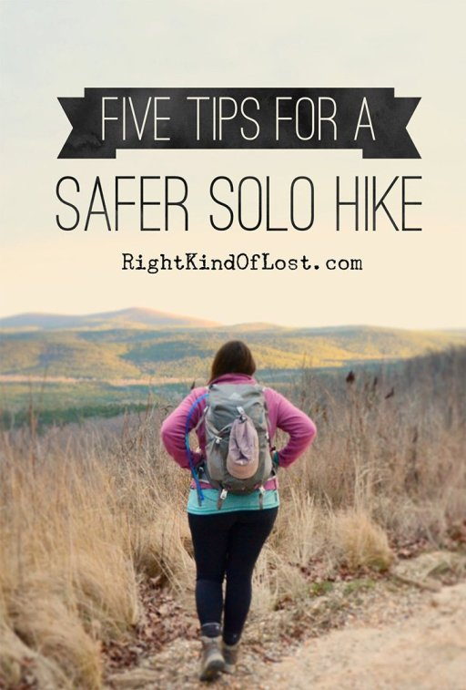 Five things to consider for a safer and more enjoyable solo hiking trip.