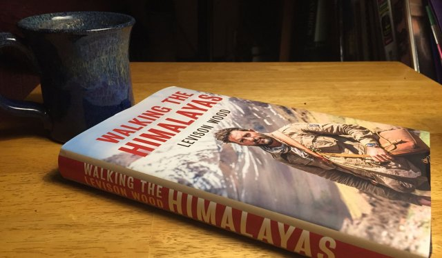 """""""Walking the Himalayas"""" by Levison Wood is a great book about a modern-day explorer who walks from Afghanistan to Bhutan along the highest mountains in the world."""