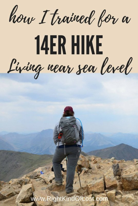 Training for a 14er? Here's what I did and the mistakes I made.