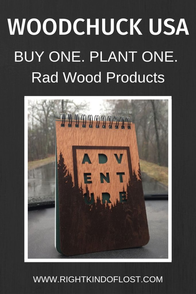 Woodchuck USA is a great company with rad wood products. For each product they sell, they plant a tree.
