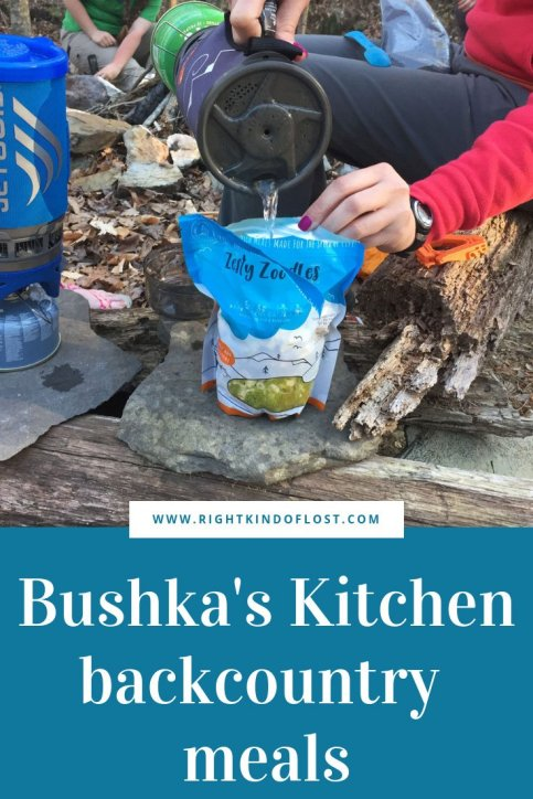 Bushka's Kitchen – a tasty, home cooked style dinner for you backcountry adventure or busy lifestyle.