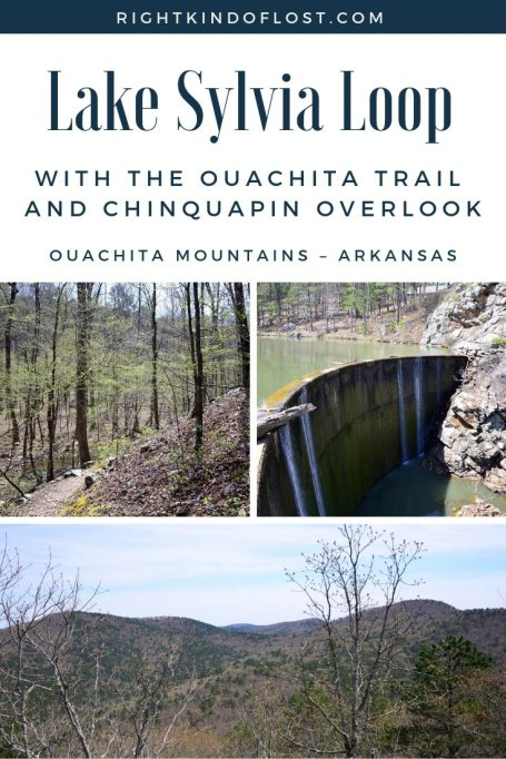 The extended Lake Sylvia Loop is a beautiful hike that showcase all the Ouachita Mountains in Arkansas offer – vistas, valleys, and hardwood forests