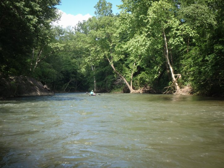 Floating the Caddo River Between Caddo Gap and Glenwood