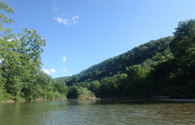 The Caddo River showcases some of best of the Ouachita Mountains