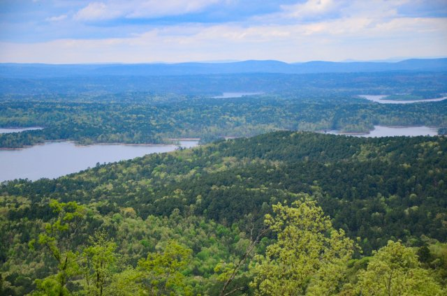 Hickory Nut Mountain views are unbelievable