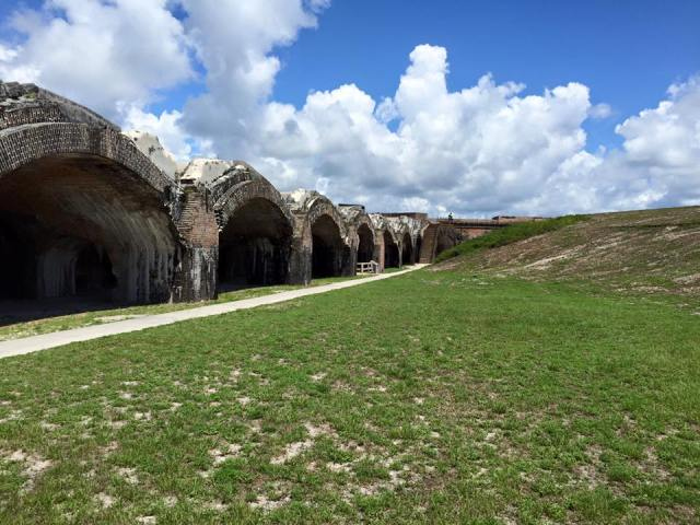 Fort Pickens is shown