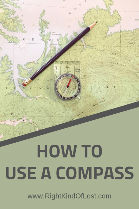 How to use a compass – we are great about telling people to not go into the wilderness without a compass, but you also need to know how to use one.