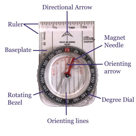 How to use a compass , and in depth lesson on orienting yourself.