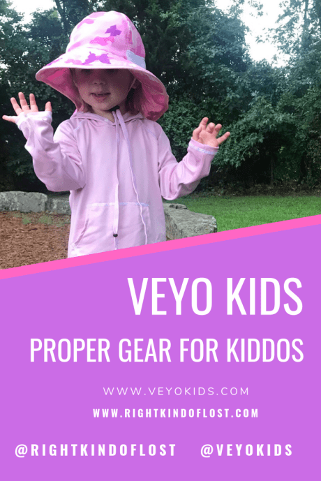 Veyo Kids is proper gear for kiddo who love to play outside