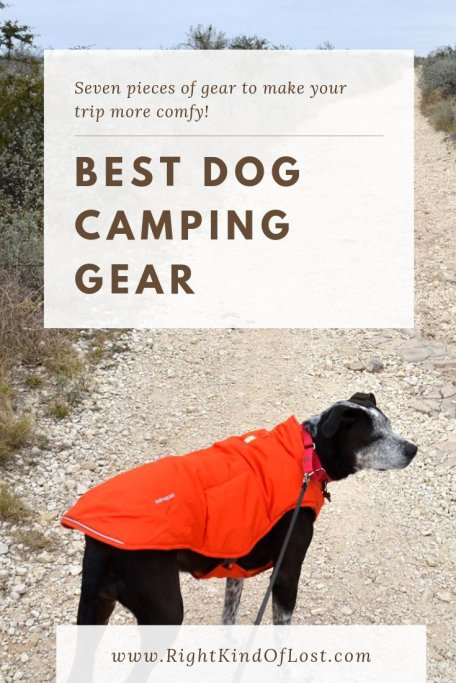 Best dog camping gear – seven pieces of gear that I, or err, Caddie my pup, love to use to make camping and backpacking trips more comfy.