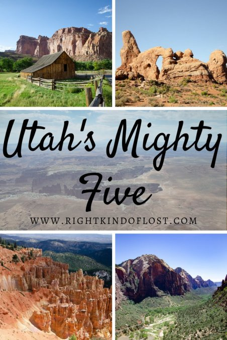 Road tripping through the desert and exploring the beauty and unique places of Utah's Mighty Five national parks is a must! Utah's Mighty Five consist of Zion National Park, Bryce Canyon National Park, Capitol Reef National Park, Arches National Park, and Canyonlands National Park.