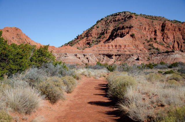 Hiking in the Texas Panhandle