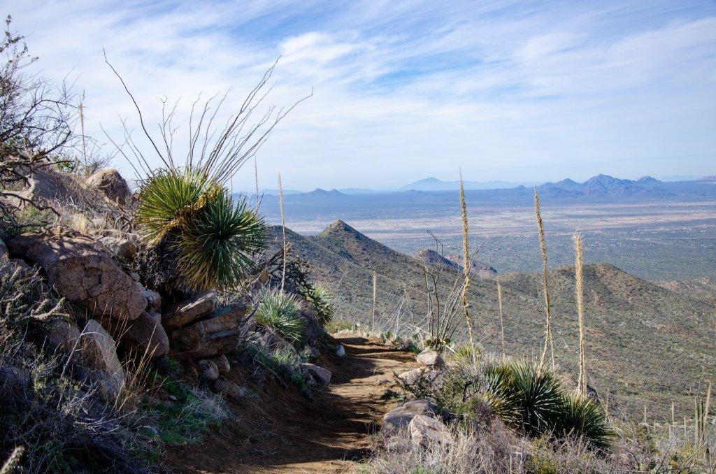 Hugh Norris Trail is shown