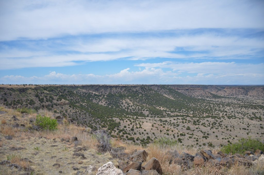 Hiking Black Mesa Oklahoma's high point