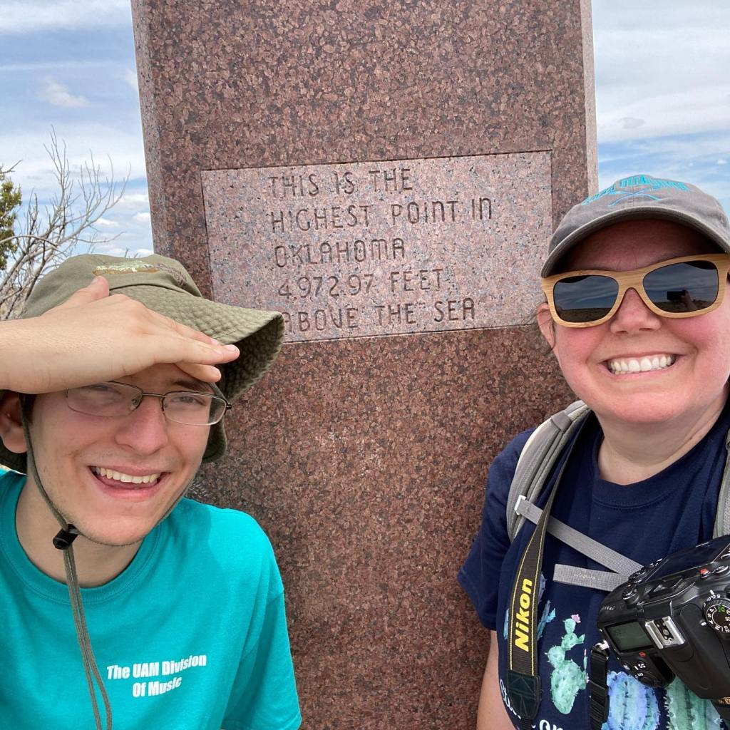 Exploring the highest point in Oklahoma