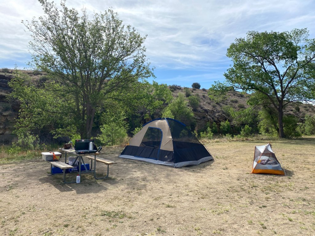 Campsite 12 is shown