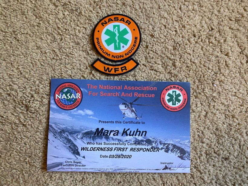 Why I took a Wilderness First Responder Course