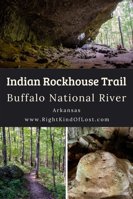 The Indian Rockhouse Trail at the Buffalo National River in Arkansas is an interesting trail that takes you back in time. I was also amazed by all the unique geological features it shows hikers along the way.