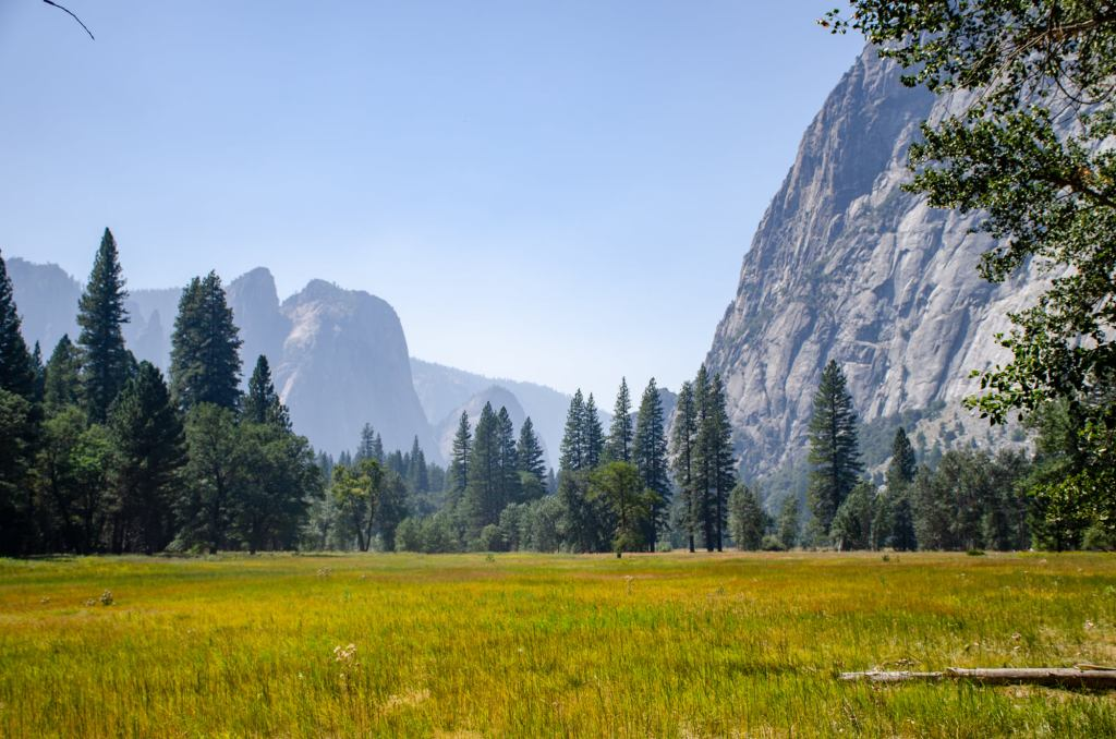 Yosemite Valley is shown - One Day in Yosemite National Park