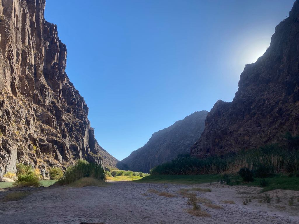Big Bend Ranch State Park is shown