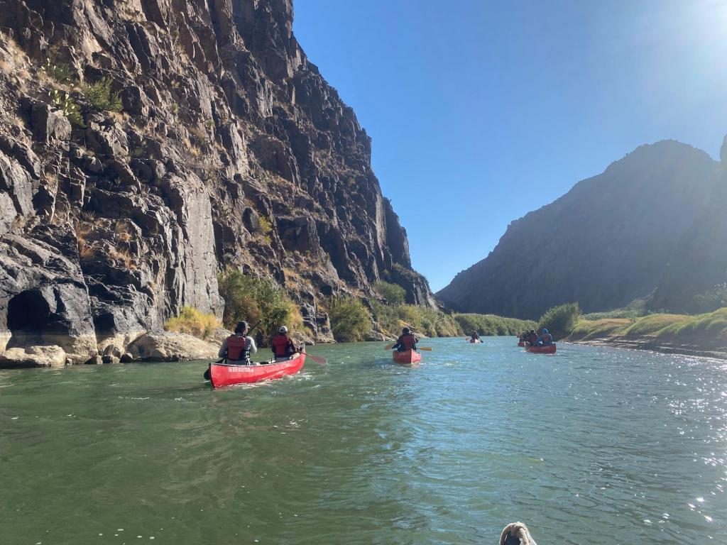 Floating the Rio Grande