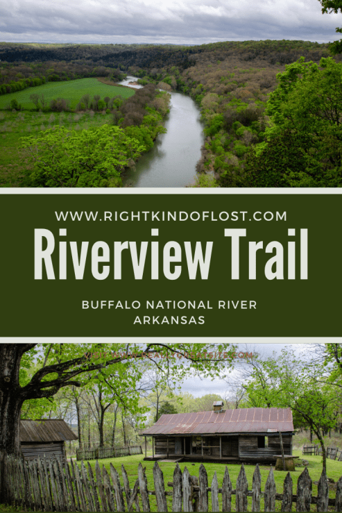 The Riverview Trail at the Buffalo National River in northern Arkansas showcases the best aspects of the park – sweeping views, beautiful forests, and history. This nearly 3-mile loop is a wonderful hike!