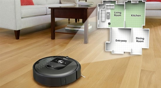 iRobot Roomba i7+ (7556) smart vacuum cleaner for a smart and super clean home.