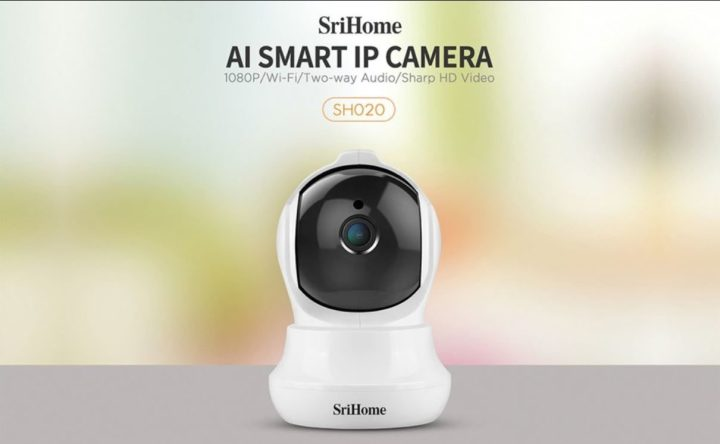 Click to view Srihome SH020 Pan/Tilt Wireless Camera on Amazon.in