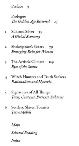 1616 - table of contents chapter by chapter