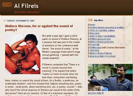 al filreis's website