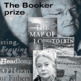 booker prize collage