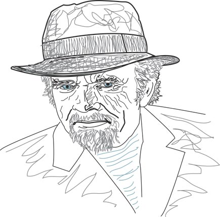merle haggard by tom christensen