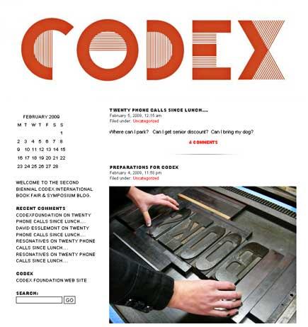 codex foundation blog