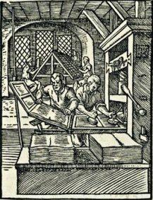 jost amman, the printer