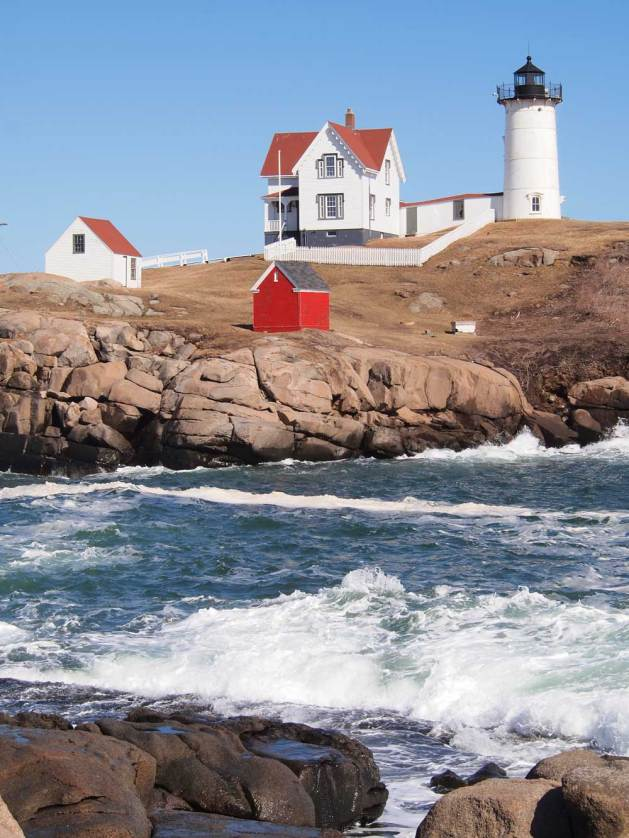 Nubble Light House, York, Maine.