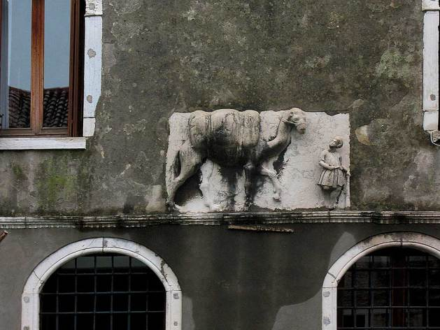 Camel plaque, Palazzo Mastelli, Venice