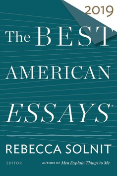 Best American Essays 2019 cover