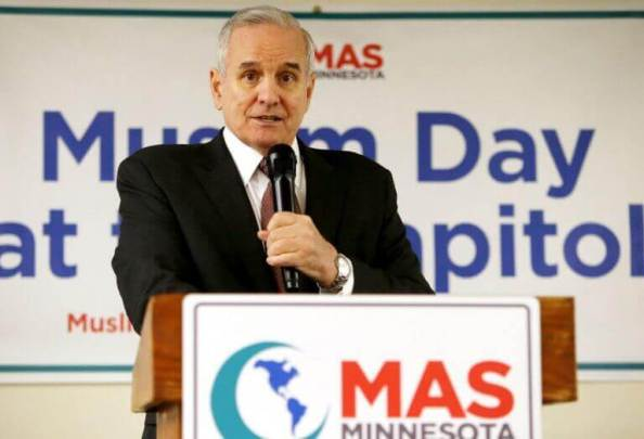 MN Governor Mark Dayton