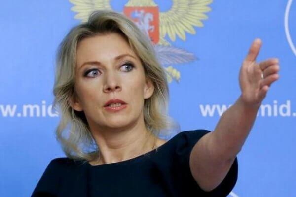 FM Spokeswoman Zakharova Rails Against The U.S. Administration For Imposing New Sanctions