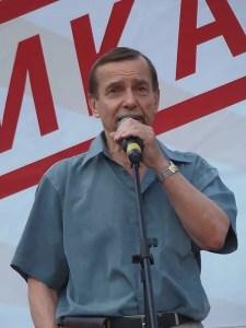 Human rights activist Lev Ponomarev turned 79 on 2 September 2020